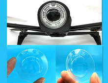 Parrot Bebop 2 drone camera lens sheets of transparent protective cover protective shell accessories(China)