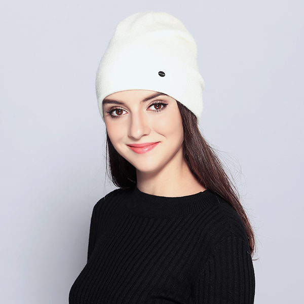 MOSNOW Women's Hats Female Wool Casual Autumn Winter Brand New Double Layer Thick 2017 Knitted Girls Skullies Beanies MZ725