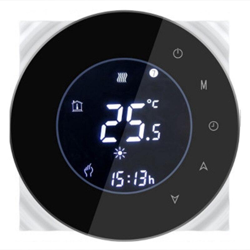 Condicionador de ar central two-reguled com wifi lcd termostato sem fio aplicação de vida inteligente