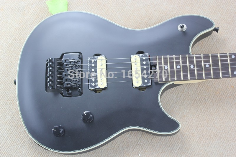 Hot Selling Custom Shop Guitar Rosewood EVH Wolfgang Black 6 Strings Electric Guitar Wholeasle Price .