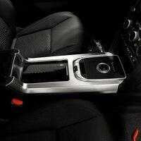 ABS Матовый Хром Интерьер аксессуар Шестерни Цельнокройное Панель отделкой автомобиля Стикеры для Land Rover Discovery Спорт 2015 2016, стайлинга автомоб