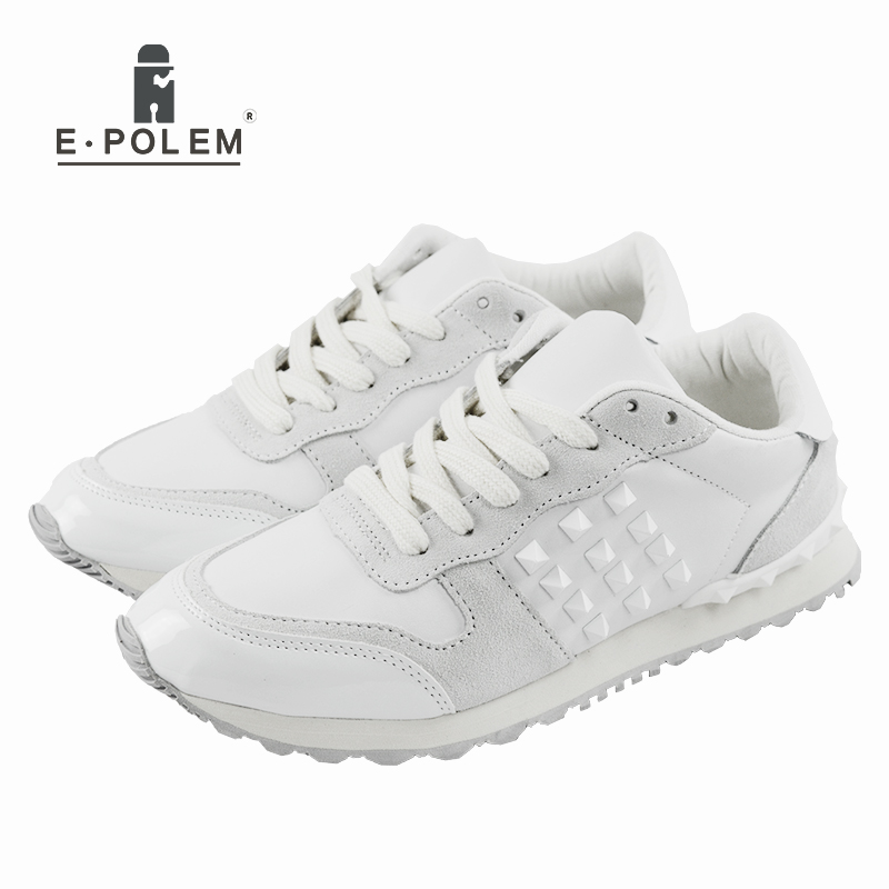 New Arrival spring autumn joker men's fashion European and American popular style retro couples white gold casual shoes new arrival dreambox cow suede shoes gold and black rivets fashionable parties and banquets men s shoes european style smok