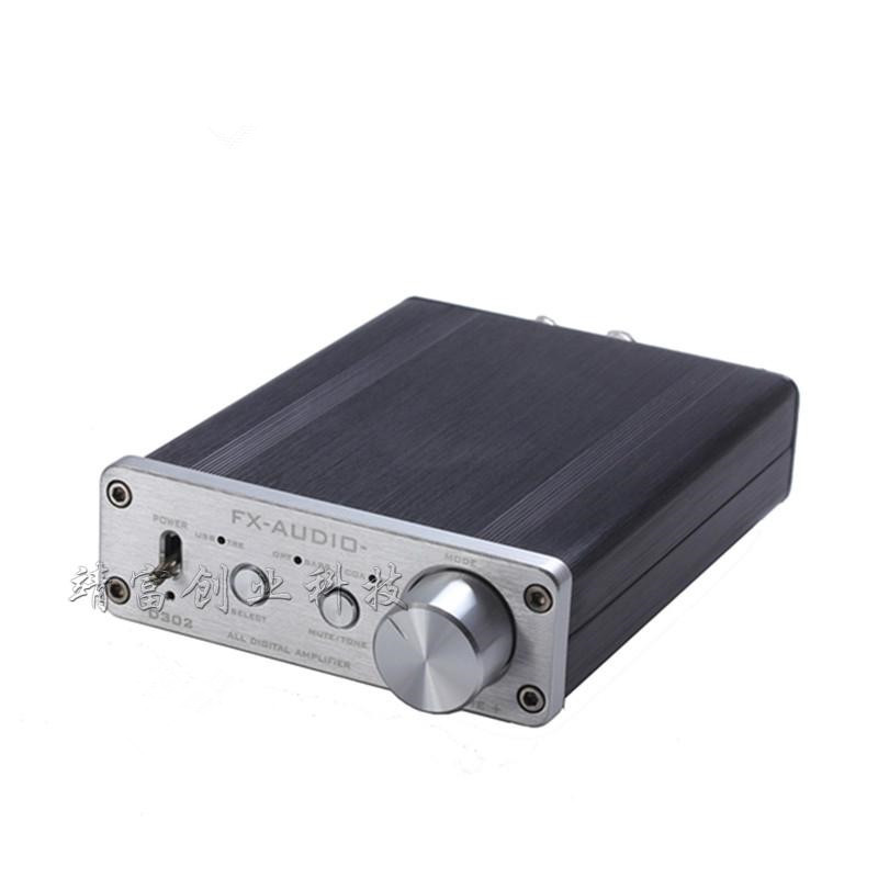 Feixiang FX-Audio D302 Hifi Pure Digital Amplifier 30W*2 192KHz/24Bit Coaxial Fiber Optics USB Input ta2024+ ta2021 DC15V/4A