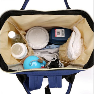 Image 5 - 다기능 엄마 엄마 기저귀 가방 패션 패치 워크 대용량 아기 가방 여행 배낭 엄마 디자이너를위한 간호 가방