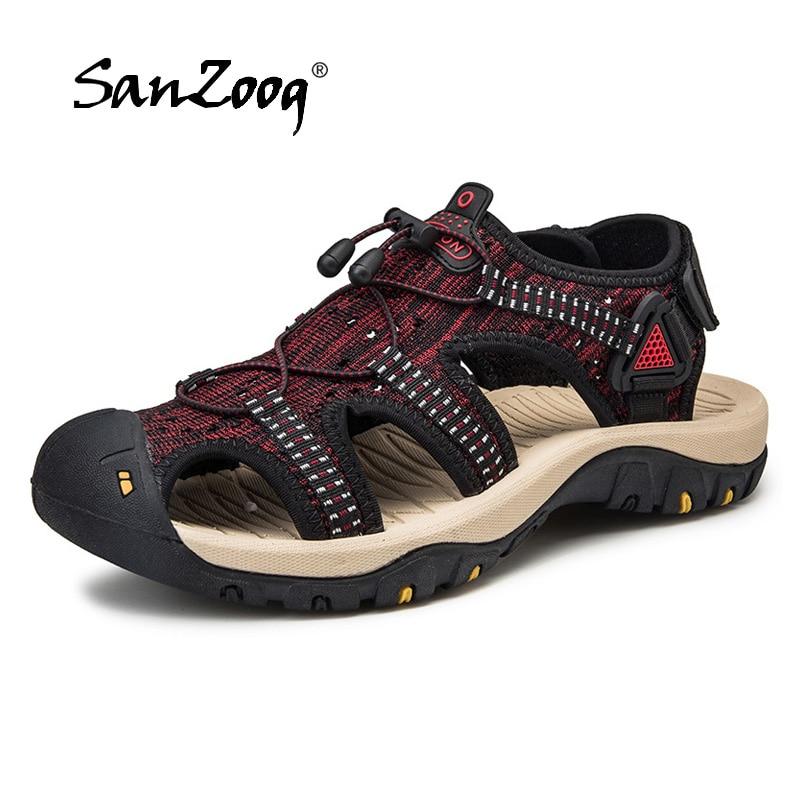 2019 New Fashion Sandals Men Summer Shoes Outdoor Rubble Soles Popular Men Beach Sandals Casual Style Big Size 472019 New Fashion Sandals Men Summer Shoes Outdoor Rubble Soles Popular Men Beach Sandals Casual Style Big Size 47
