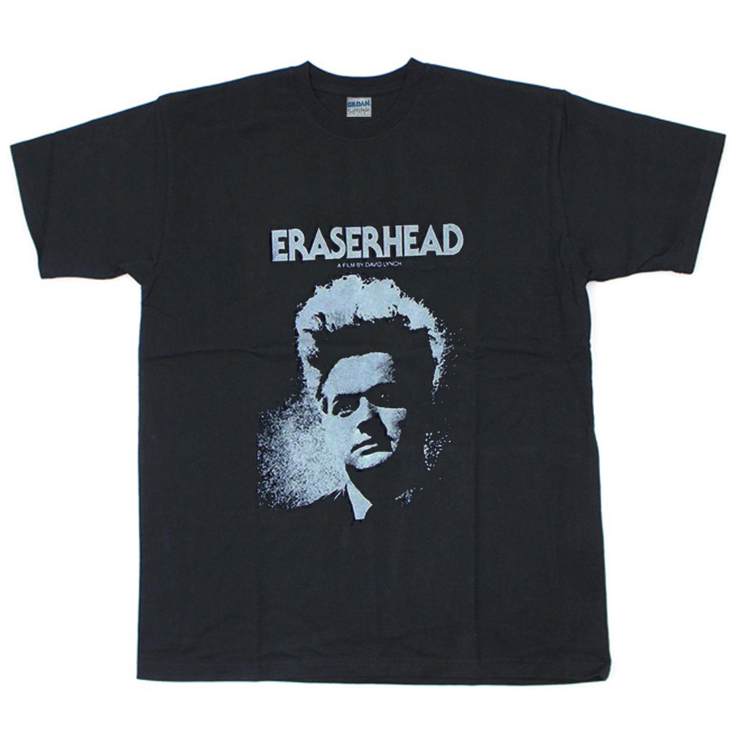 Vintage T-Shirt Eraserhead Baseball Jersey Tee David Lynch Twin Peaks Reprint Short Sleeve Fashion Summer Printing Casual