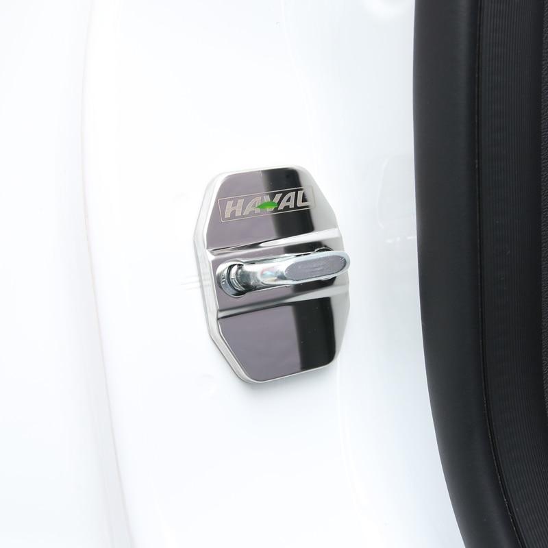 Car Door Lock Buckle Latch Stop Anti Rust Door Lock cover Protect Buckle Cover for Great