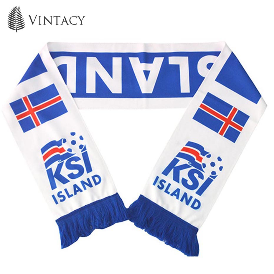 Vintacy Neck Scarf Cotton Win Soccer Fan Team Cheerleaders New Fashion Flag Banner Contest Letter Print Hot Sale 2018