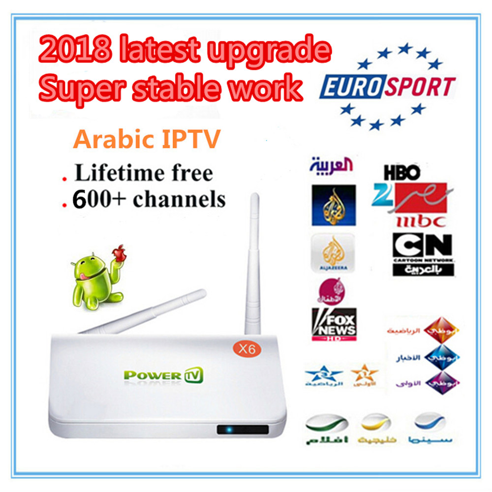 2018 Newly Upgraded TV Box Arabic IPTV Special Arabic European Live IPTV United Kingdom France Norwegian No monthly fee forever