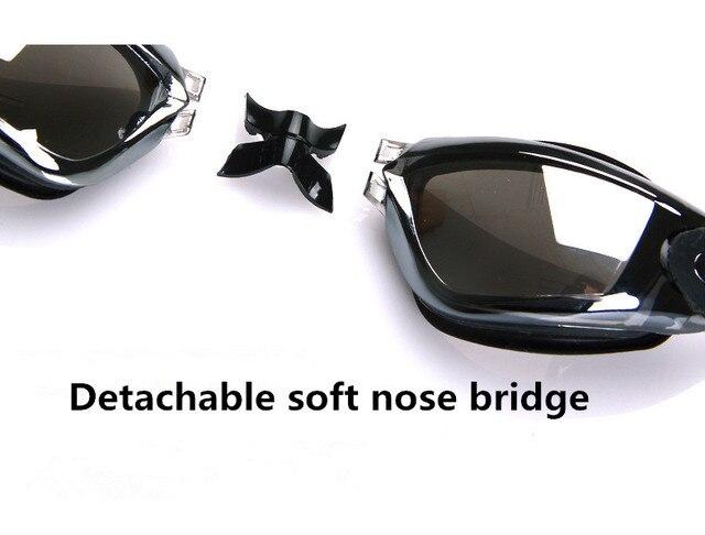 спортивные очки для взрослых профессиональная близорукость плавания фотография