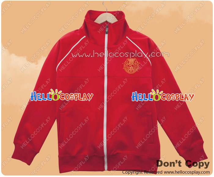 Silver Spoon Cosplay Oezo Agricultural High School Equestrian Department Red Sportswear Jacket Costume H008