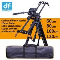 DIGITALFOTO карбоновая камера слайдер 10 кг Медведь Путешествия Видео слайдер операторская тележка на рельсах рейка для цифровой зеркальной каме...