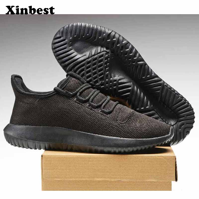 Xinbest New Man Woman Brand Outdoor Athletic Breathable Running Shoes Comfortably Outdoor Jogging Fly line Fabric Sneakers