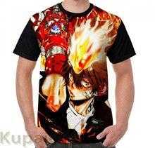 Gráfico engraçado imprimir camiseta homens Tops tees mulheres T-Shirt de Manga Curta Casuais camisetas Katekyo hitman reborn