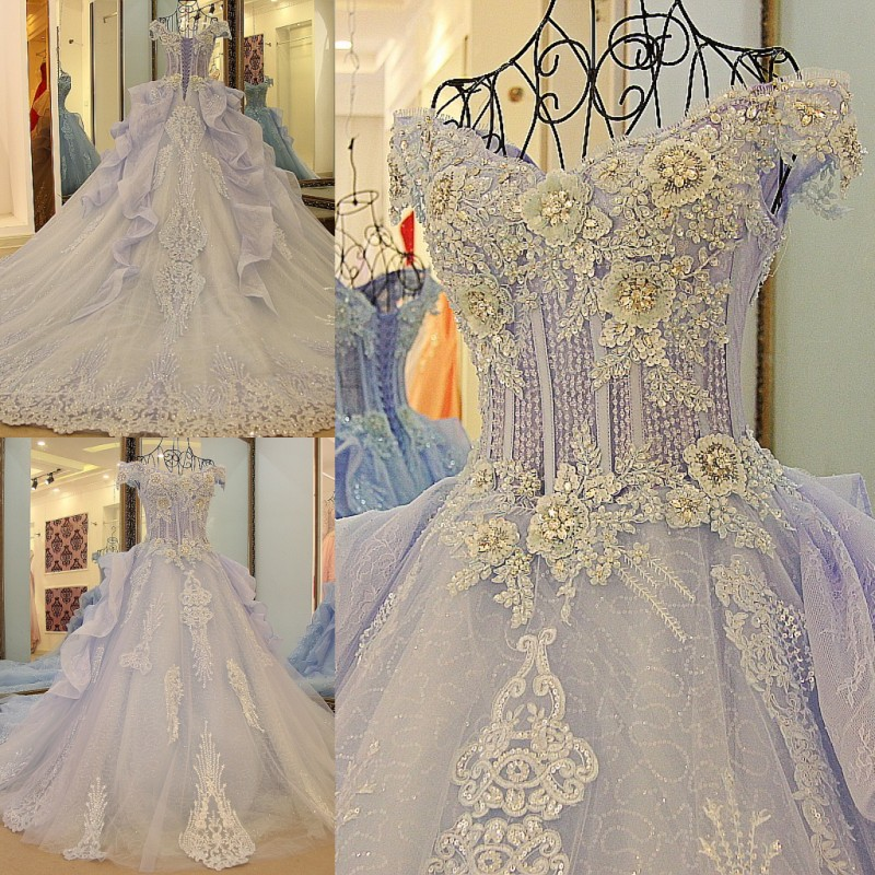 2017 Dubai Tulle Lace Vintage Evening Dresses High Quality Floor Length Evening Gowns vestidos de fiesta AB61