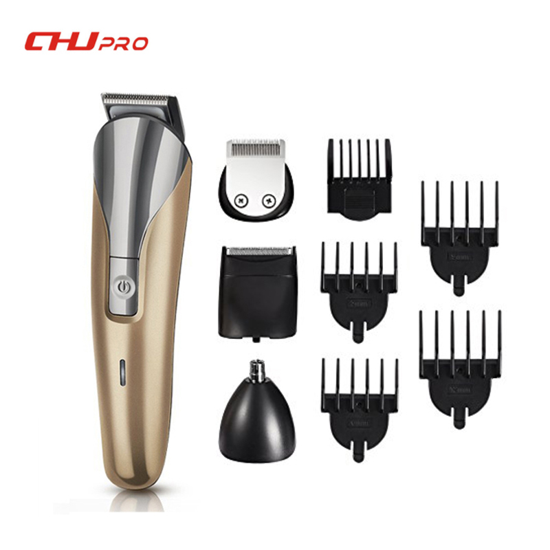 Electric Hair Trimmer 8 IN1 Beard Trimmer Sets Hair Clippers Men Professional Hair Shaver Beard Shaping Tool NK1712 lucky chance in may men shandbags 8