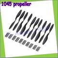 """10 unids/lote 10x4.5 """"1045 1045R CW CCW Propeller para DJI F450 500 F550 FPV RC del Multi-Helicóptero QuadCopter APC (5 par)"""