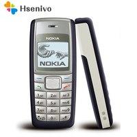 1112 Оригинальный разблокирована Nokia 1112 700 mAh 2 г/м² Восстановленный кнопочный мобильный телефон один год гарантийного ремонта