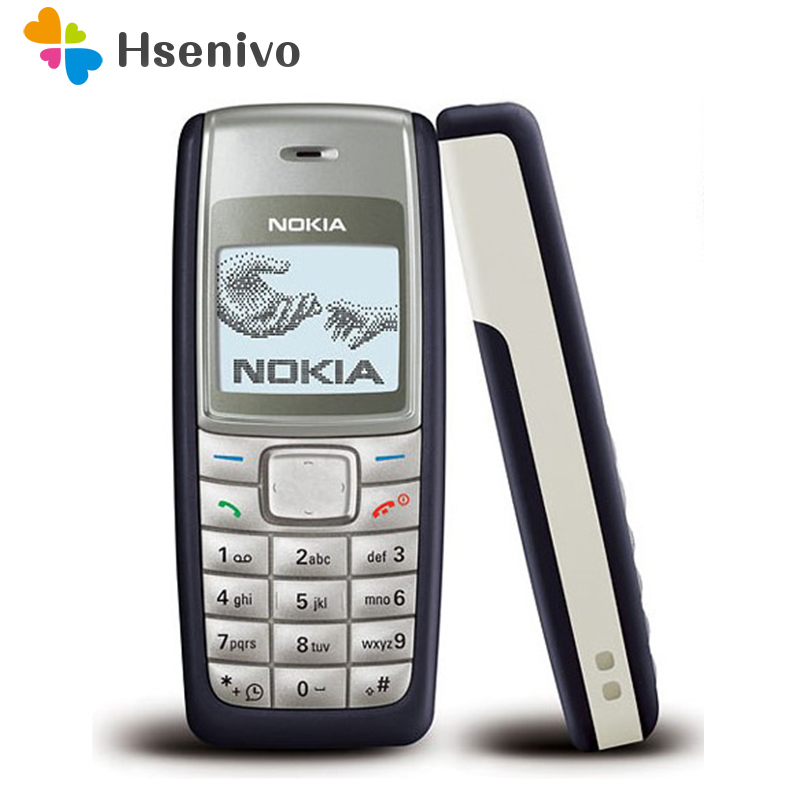 1112 Débloqué Original Nokia 1112 700 mah 2g GSM Rénové Écran Tactile Téléphone Un an de garantie remis à neuf
