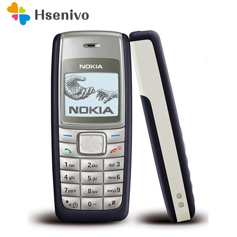 1112 Original Desbloqueado Nokia 1112 700 mAh 2G Touchscreen GSM Remodelado Telefone Um ano de garantia recuperado