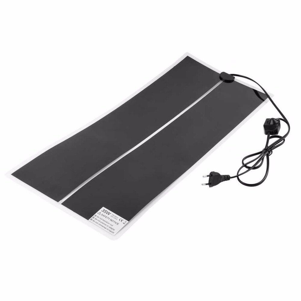 Ir 35w/45w/28w Warmer Bed Mat Pad Amphibians Adjustable Temperature Pet Reptile Heating Heater 65x28cm 80x28cm 100x15cm