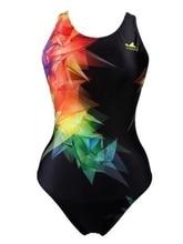 Yingfa Professional competition sports one piece triangle training swimsuit waterproof women's swimwear bathing suit