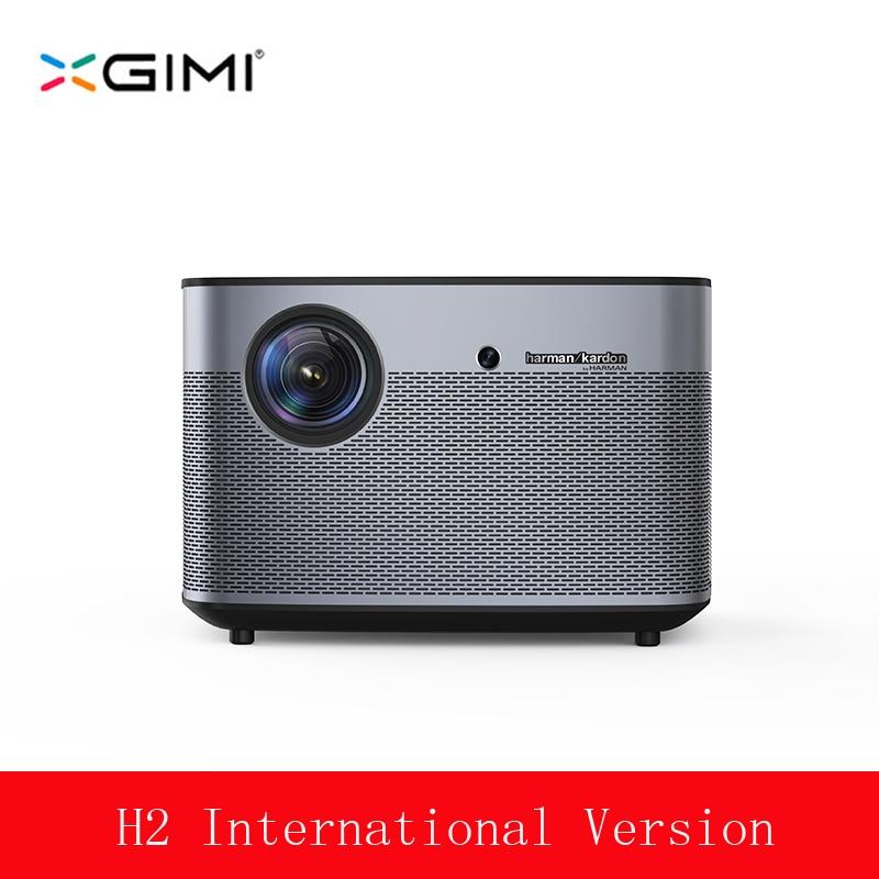 XGIMI H2 светодио дный проектор Full HD 1350 ANSI люмен 1080 P светодио дный 300 3D Видео Android Wi-Fi Bluetooth Smart Театр HDMI 4 К проектор
