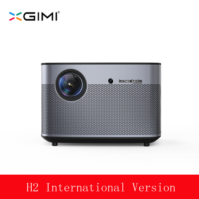 XGIMI H2 Led Projecteur Full HD 1350 ANSI Lumens 1080 p LED 300 3D Vidéo Android Wifi Bluetooth Smart théâtre HDMI 4 k Beamer