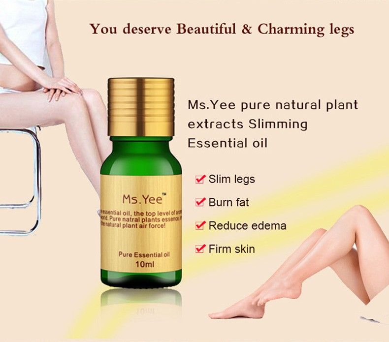 Natural Body Slimming Firming Essential Oil Effect Thin Legs Waist Arms Fat loss Safety Lost Weight Health & Beauty Massage Oils 2