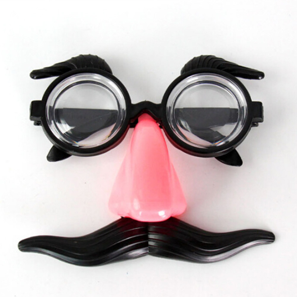 Handmade  Funny  Item Trendy Mustache Fake Nose  Personality Hot Sale Luxury  Party Glasses 2018 Supplies Lovely spülbecken sieb