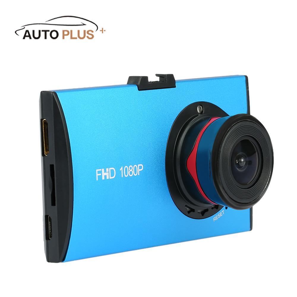 imágenes para Coche Video de la Cámara Ultra Delgada de 3 pulgadas de Ancho Lente 170 Grados de HD Dash cam con Construido en G-sensor Car-styling coche-detecto