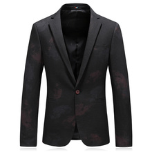 fashion autumn mens classic jacket good quality wool man blazer casual suit plus size 4xl
