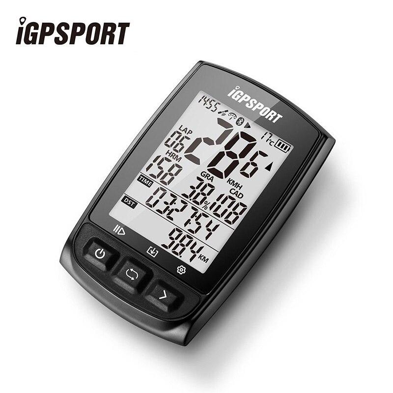 IGPSPORT IGS50E GPS ciclismo ordenador inalámbrico IPX7 bicicleta impermeable cronómetro Digital ciclismo velocímetro ANT + Bluetooth 4,0 - 3