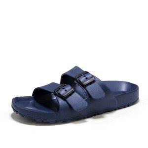 Image 3 - AODLEE حجم كبير 45 موضة الرجال الصنادل الانزلاق على تنفس ماركة الصيف صنادل شاطئ الشرائح الرجال حذاء كاجوال sandalias hombre