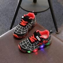 Davidyue Spiderman Kinder Jungen Sport Turnschuhe Kinder