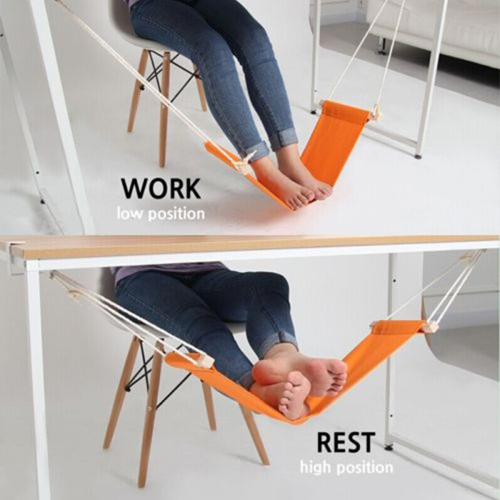 Mini Office Foot Rest Desk Hammock