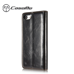 For iphone 7 Case iphone 7 Plus Cover Luxury CaseMe Cases Flip Stand Coque Accessories Wallet Leather Fundas Magnetic Capa 3
