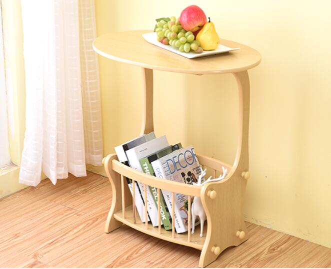 59*39*67cm Multipurpose Coffee Tables with Storage rack Eco-friendly fibreboard tea table Side table