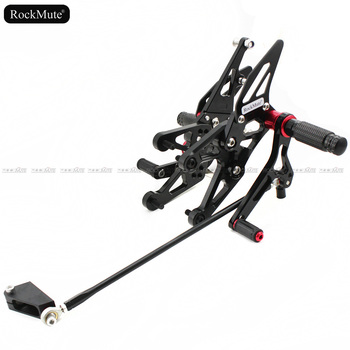 Motorcycle Rearset For Yamaha YZF-R1 YZF R1 2007-2008 Adjustable Footrest Shift Lever Brake Pedal Foot Pegs Rear Set Rearsets