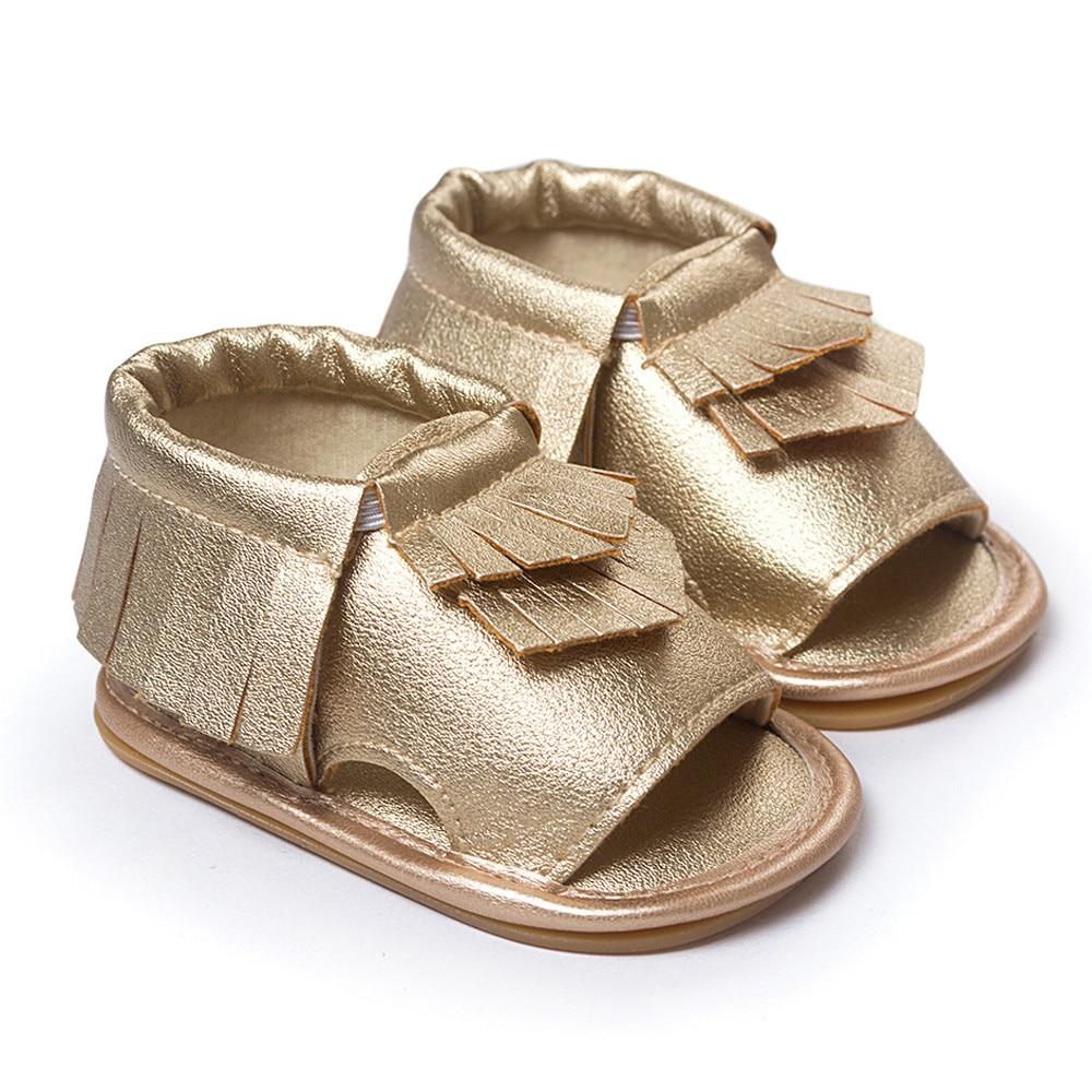 Лучшая цена Новые поступления 4 вида цветов Детские кисточкой принцессы для малышей начинающих ходить девочек детская обувь Горячая распро...