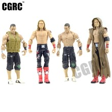 7 inch font b RC b font Car Driver Doll Wrestling Active Joint For 1 10