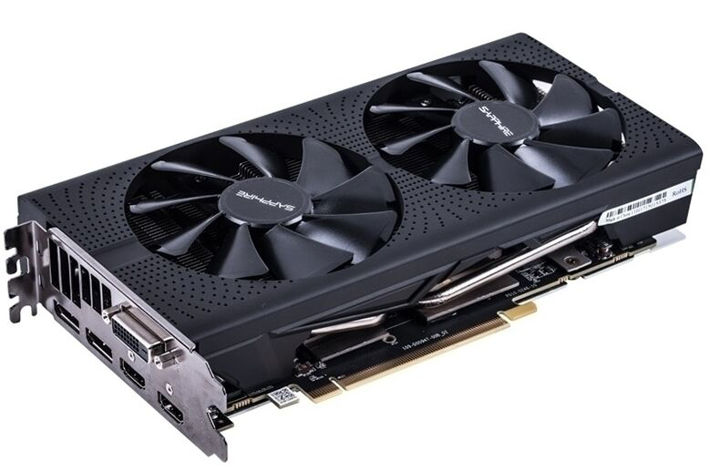 Image 2 - SAPPHIRE Radeon RX 580 8G 8GB RX580 256bit GDDR5 PCI desktop gaming graphics cards video card not mining RX570 570 560Graphics Cards   -