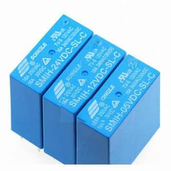 SMIH-05VDC-SL-C SMIH-12VDC-SL-C SMIH-24VDC-SL-C 05 12 24 V Relays 16A 250V 8pin A Set Of Conversion New Original 10pcs/lot - DISCOUNT ITEM  8% OFF All Category