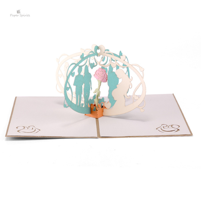 paper spiritz pregnancy cards 3d laser cut paper pop up card with