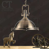 Loft American Retro Industrial Pendant Lights Restaurant Light Bar Heavy Metal Personal Bar Tie Iron Roberts Pendant lamps