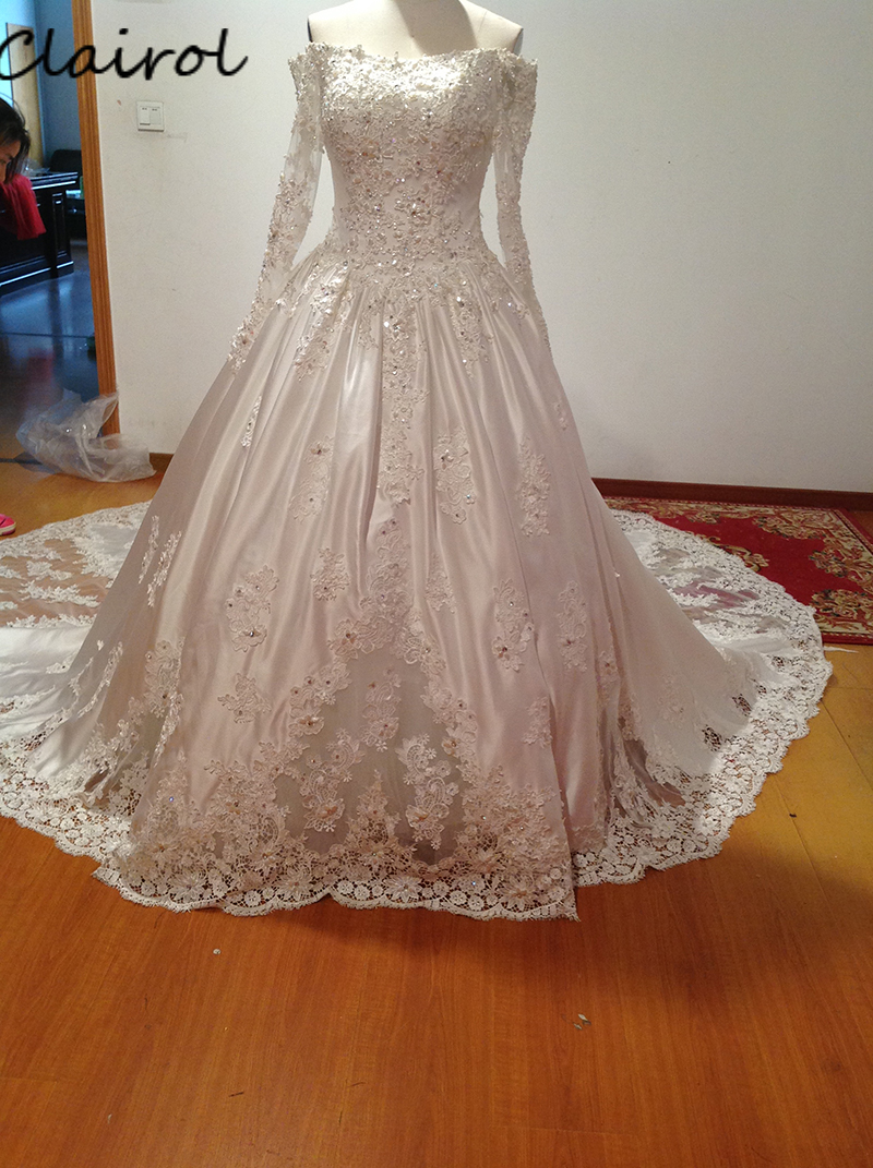 Wedding Gowns Prices In China : Compare prices on muslim wedding dresses bridal dress