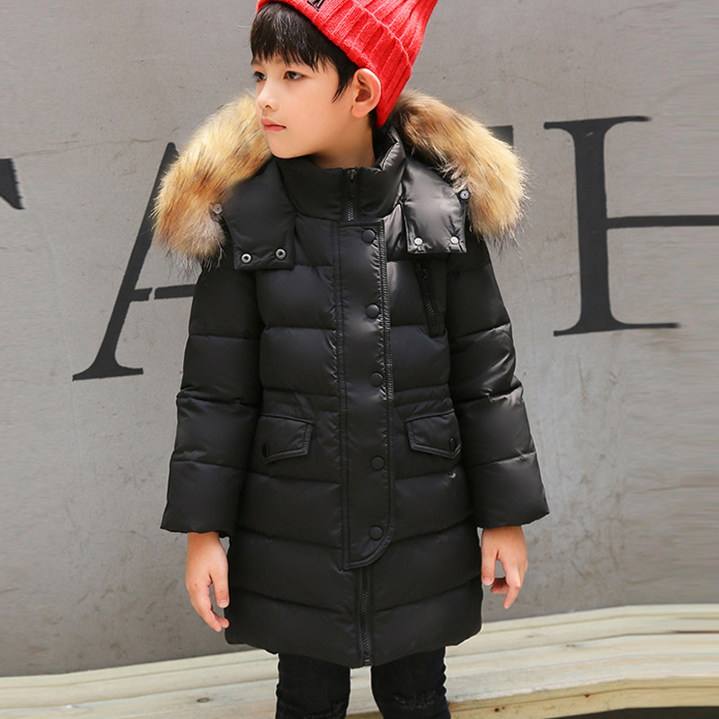 Boys /Girls down jacket Children Cotton Jacket Warm Fashion Parkas Winter Kids Jacket Zipper cotton Coat Children Clothing 4-12Y children winter coats jacket baby boys warm outerwear thickening outdoors kids snow proof coat parkas cotton padded clothes
