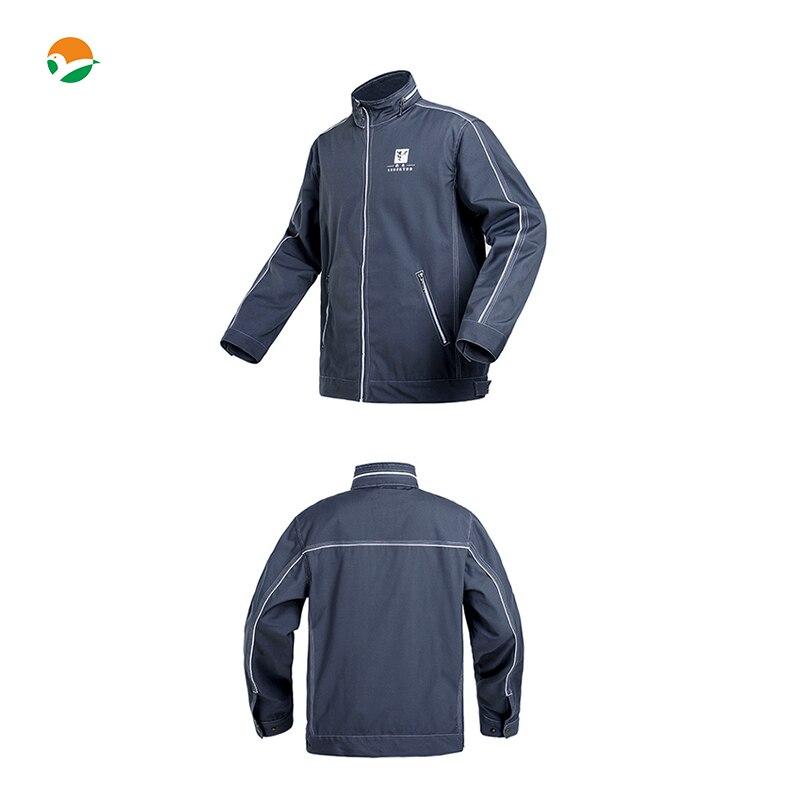 New Arrival High quality durable Mens work cargo pocket jacket workwear twill jacket work jacket free shipping