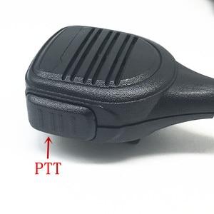 Image 2 - Handenvrij microfoon speaker voor Motorola Xir P8268 P8260 P8200 P8660 GP328D DP4400 DP4401 DP4800 DP4801 etc walkie talkie