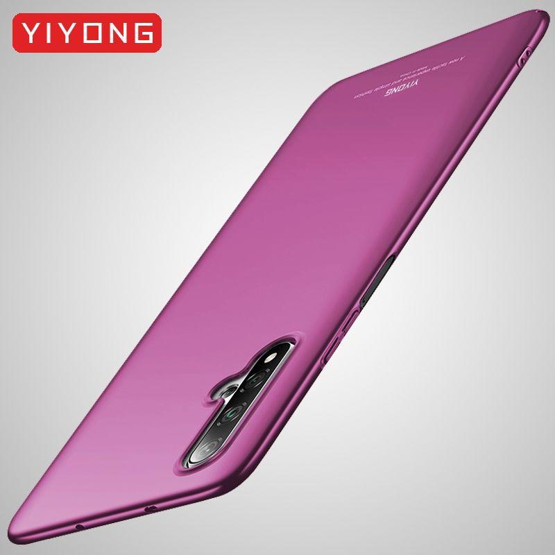 Honor 20 Pro Case YIYONG Slim Frosted Cover For Huawei Honor 20 10 Lite 20i Case Hard PC Cover For Huawei Honor View 20 V20 Case